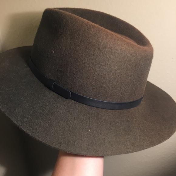 230ba03828 Army Green fedora hat